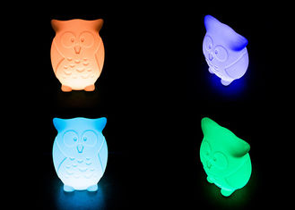 China Decorative Illuminated Animal Night Light Duck Shape 16 Colors Changing supplier