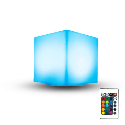 Waterproof  LED Cube Table Lamp , LED Mood Light Cube Suit For Outdoor Party
