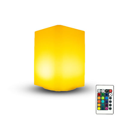 Cuboid Shape LED Cube Light Plastic Body Material With 16 Colors Change Color