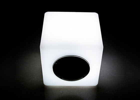 IR Remote Control LED Bluetooth Speaker / LED Cube Speaker 16 Colors Changeable
