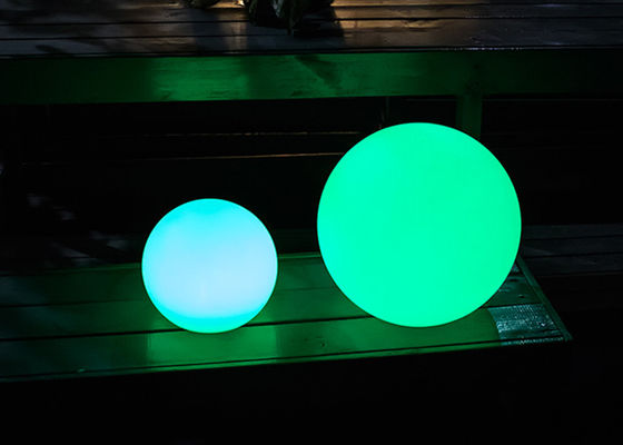 Highlight RGBW  Floating LED Balls , Small LED Balls With Long Life Times