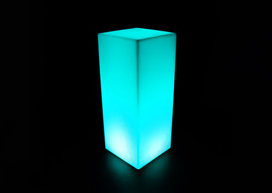 PE Material LED Cube Light 80*30*30 Cm Size Suitable For Family Decoration