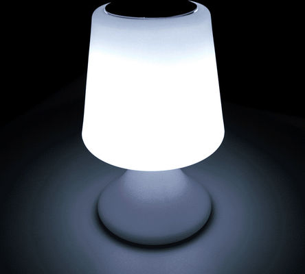 Energy Saving Wireless Light Speaker / Light Up Bluetooth Speaker Table Lamp Shape
