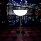 Illuminated LED Cocktail Table Lights / Glow Cocktail Table IR Remote Controller