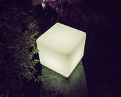 Multi Color Charging Light Up Cube Seat White Forested Shell 4 Flash Modes