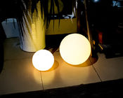 PE Plastic Solar Pool Ball Lights / Outdoor Solar Ball Lights 4 Flash Modes