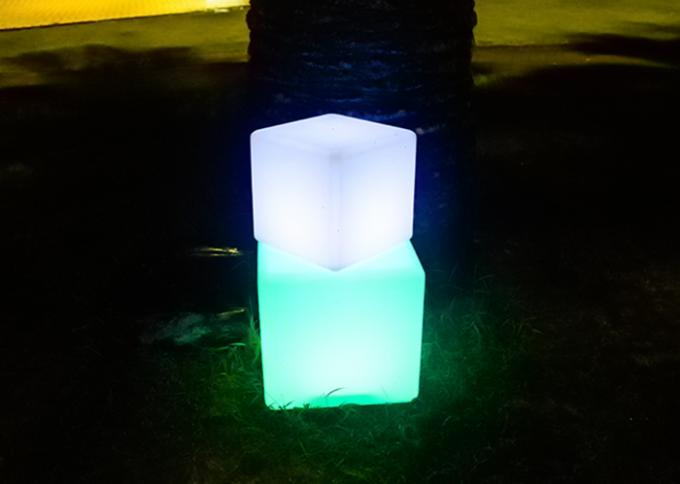 Energy Saving LED Cube Light Decorations Outdoor Light Up Cubes High Efficient