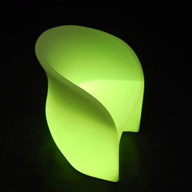 Night Club LED Light Outdoor Furniture / Glowing Outdoor Chairs IP65  Waterproof